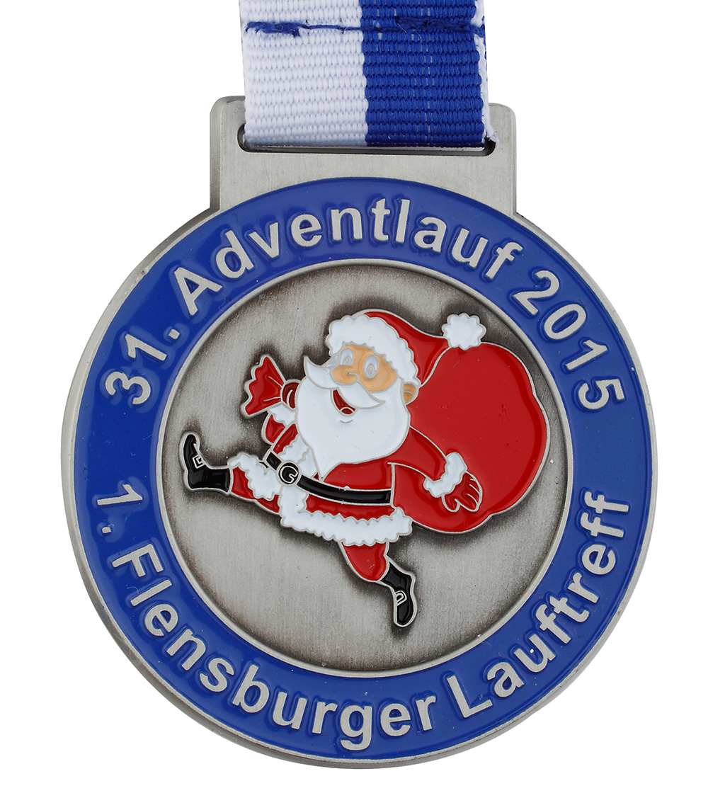 Christmas Running Medals.Medals For Marathon And Other Running Events Kissing