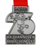 Individuell gefertigte Marathon Medaille