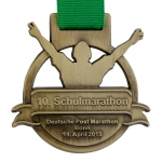 individuelle Gussmedaille