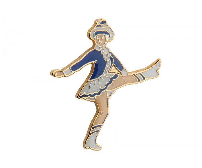 Karnveval Tanzmariechen blau weiß