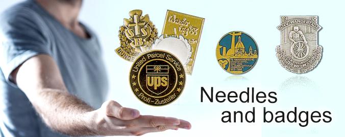 Vereinsabzeichen und Ehrennadeln