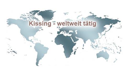 Kissing - weltweit tätig